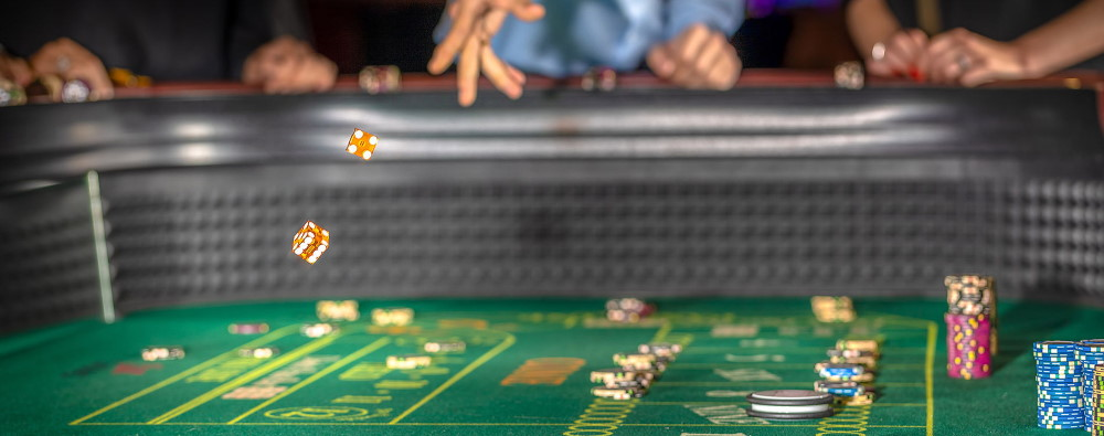 Craps Casino Table Layout
